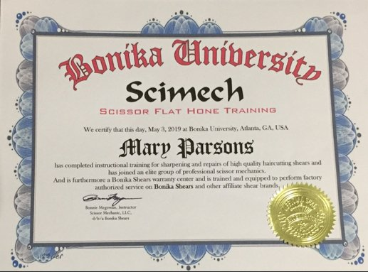 Scimech-scissor-flat-hone-training-cerificate